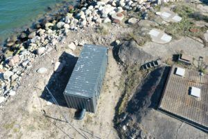 Havnebyen Renseanlæg container