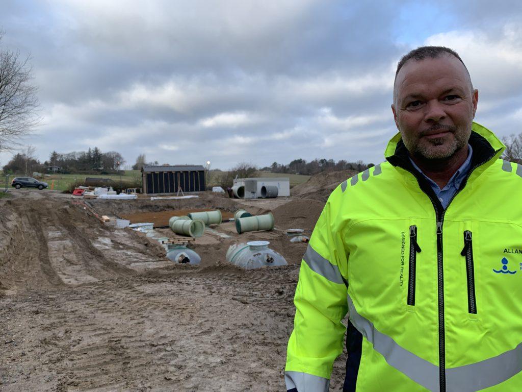 Allan Andersen ved Nyrup renseanlæg