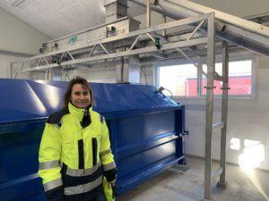 Projektchef Sascha Boserup på Højby renseanlæg