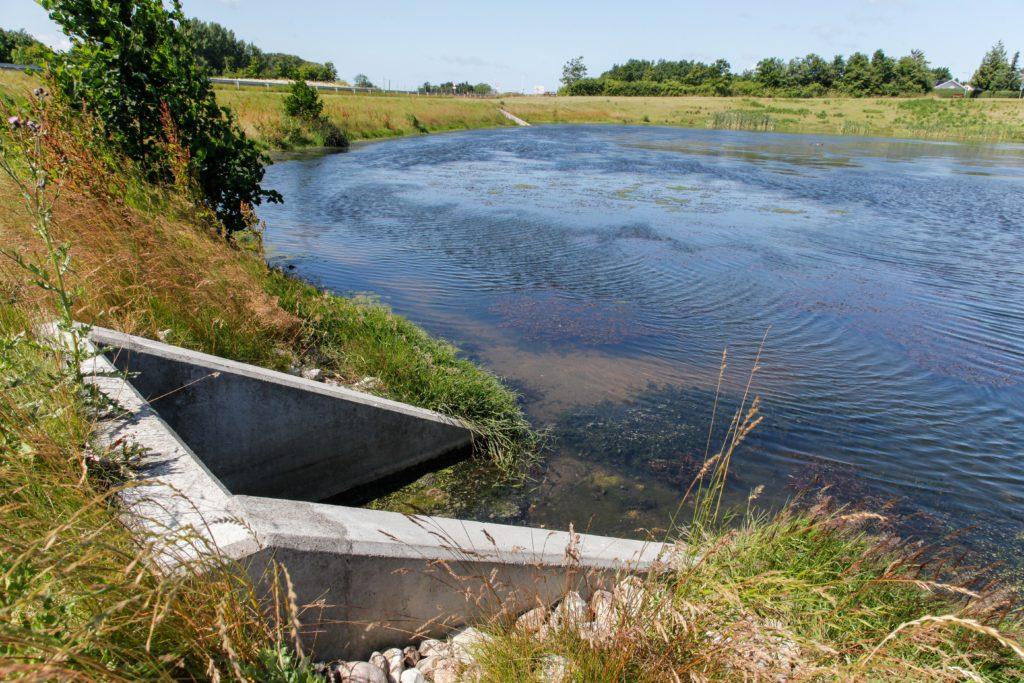 Grønnehavebæk regnvandsbassin