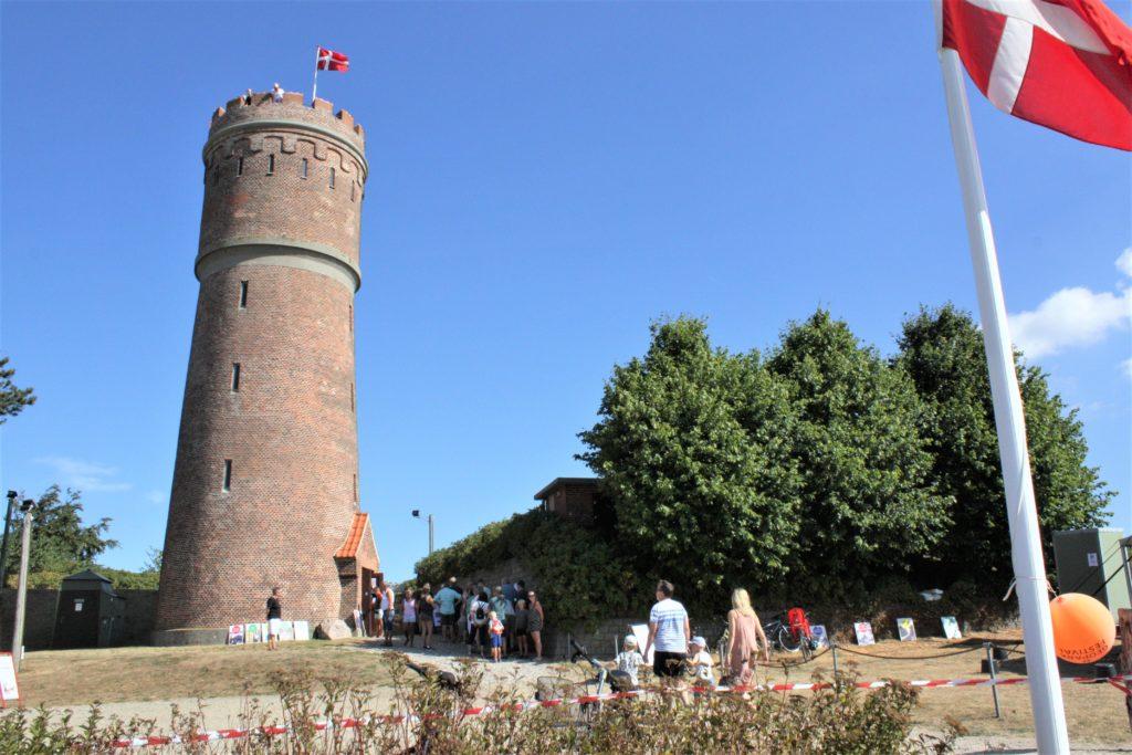 Åbent vandtårn i Nykøbing Sj.