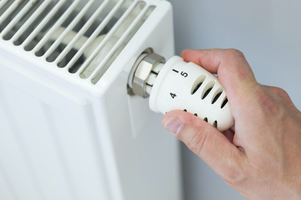 radiator med termostat