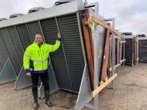 Allan Andersen Formand for Odsherred Forsynings bestyrelse ved nye varmepumper