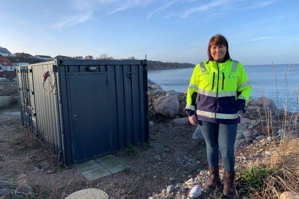 Fanny ved Havnebyen renseanlæg